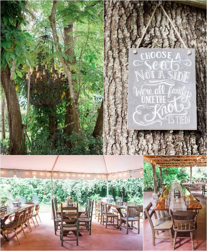 Abby Mike Waldos Secret Garden Wedding Vero Beach
