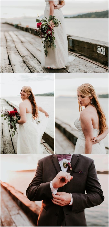 Aberdeen + Dan Pier 1 Wedding {Anacortes Wedding Photography}